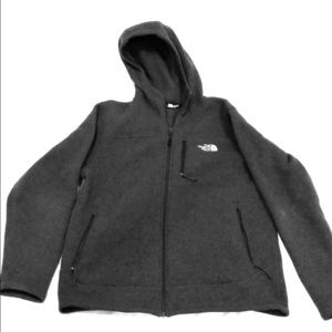 North Face Men's full-zip hoodie